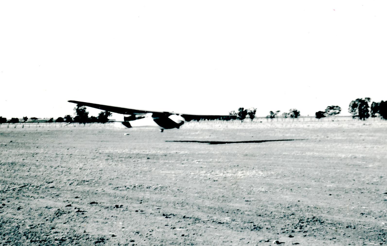 Longwing landing